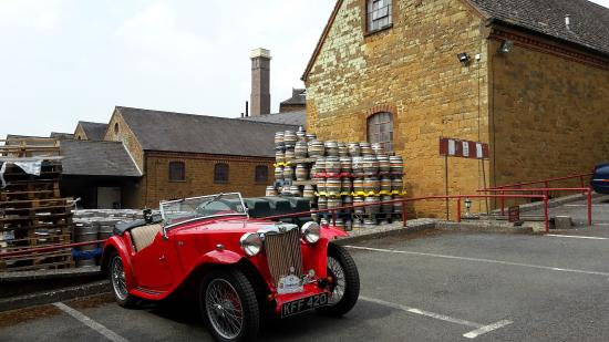 Hook Norton, UK: MG at Hook Norton Brewery
