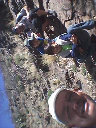 Franklin Mountains State Park: hiking with my son and grandchildren