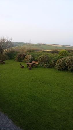 Saint Gennys, UK: A view from my room Trezzaden room