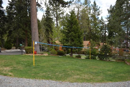 Tahoe Vista, Καλιφόρνια: Badminton/Volleyball Court