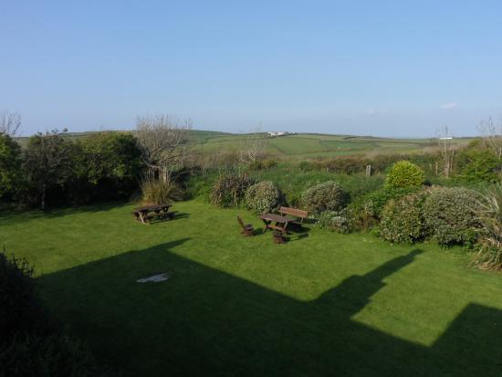 Saint Gennys, UK: A view from my room