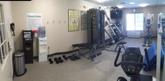 Brentwood, Californië: Fitness Center