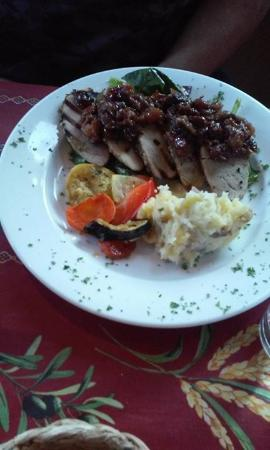 Martha's Leelanau Table: Pork tenderloin rhubarb Chutney