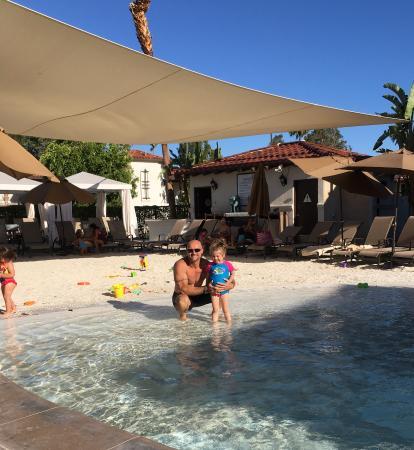 Omni Rancho Las Palmas Resort & Spa: Beach area