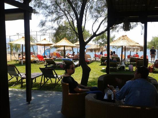 Potokaki, กรีซ: Maredeus Beach Bar