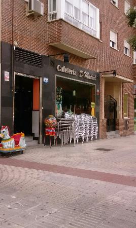Фуэнлабрада, Испания: CAFETERIA D´MADRID