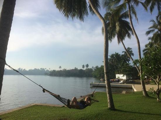 Kalutara, Sri Lanka: Beautiful lake