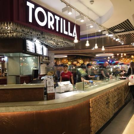 Tortilla Birmingham New Street Station