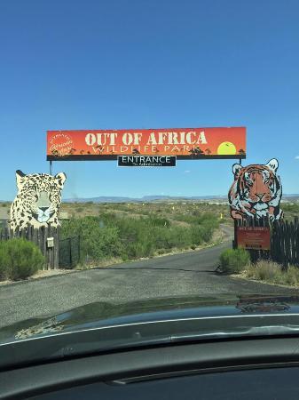 Camp Verde, AZ: Entrance