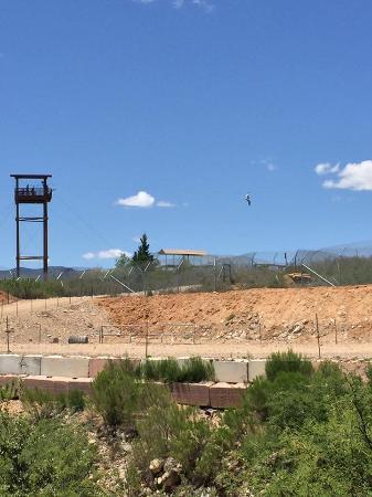 Camp Verde, AZ: One of the zip lines