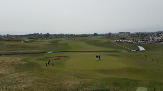 Carnoustie Golf Course Hotel: 18th Green