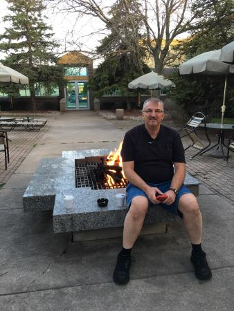 La Quinta Inn & Suites Appleton College Avenue: Fire pit