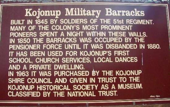 Kojonup Military Barracks
