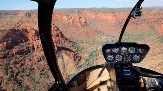 Yulara, Αυστραλία: Chopper trip beyond Kings Canyon