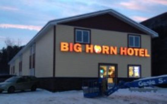 Big Horn Hotel...new look