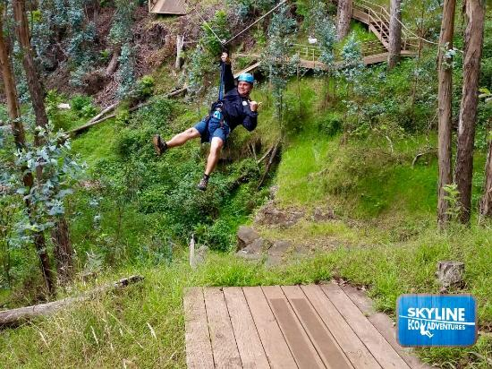 Ka'anapali, Hawái: Zipline fun with Skyline Eco Adventures Haleakala