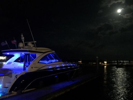 Bimini: Our boat at the marina