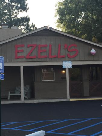 Ezell's Catfish Cabin: Anytime I am in Columbus Georgia... It is a must to eat at Ezell's.   I ate at Ezell's in Mobile