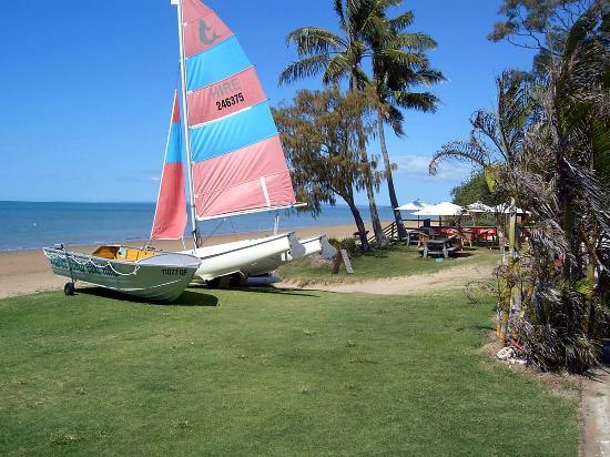 Hervey Bay, Australien: Cafe on the esplanade walk