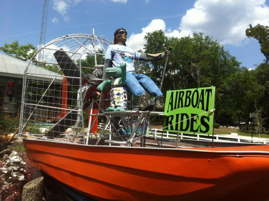 River Safaris And Gulf Charters: Airboat rides