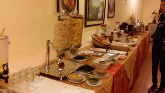El Virrey Boutique Hostal: Saboroso e variado café da manhã