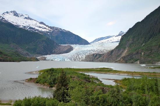 Mendenhall Glacier, a must-do in Juneau.