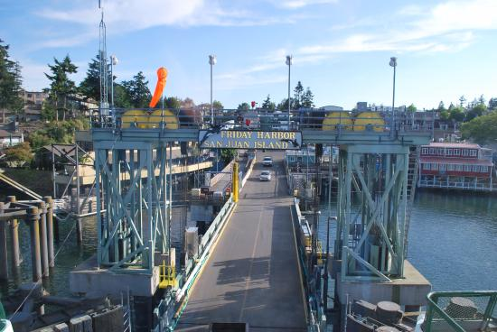 San Juan Islands, WA: Friday Harbor Ferry Landing