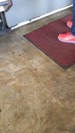 Los Gatos, Kalifornia: The floor