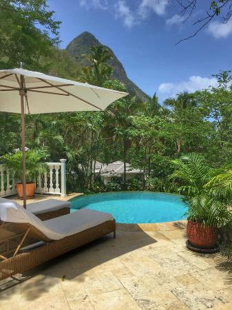 Sugar Beach, A Viceroy Resort: View from unit 603