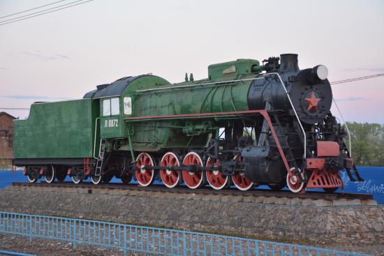 Petushki, Russland: Паровоз