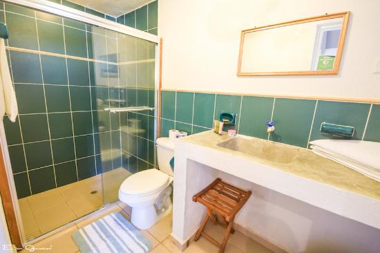 Playa Venao, Panamá: Private bathroom