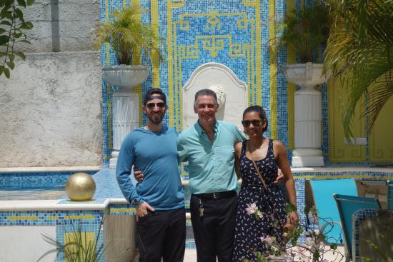 The Villa Tievoli: Our last morning with Patrick!