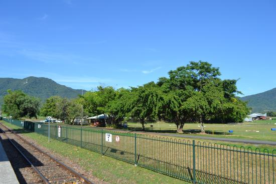Distrito de Cairns, Australia: The view from the platform