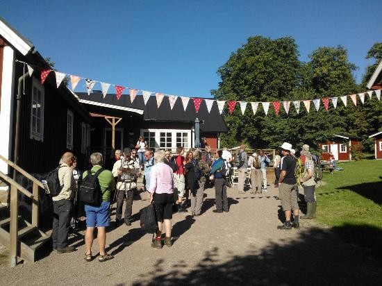 Klaverods Vandrarhem & Cafe: Café på söndagar