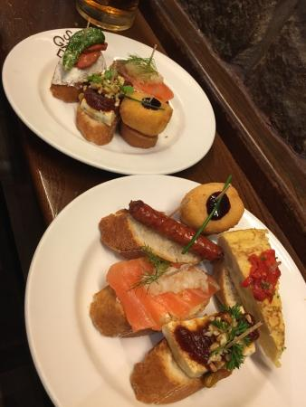Irati Taverna Basca: Our first taste of tapas in the city!