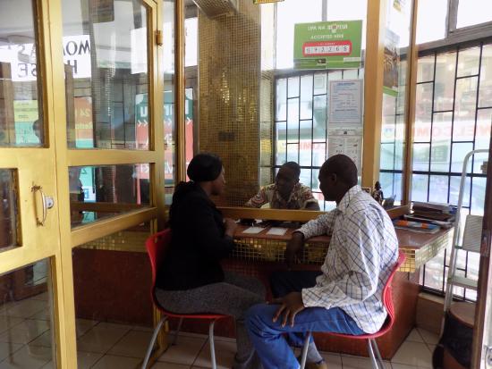 Kenya Comfort Hotel: Reception