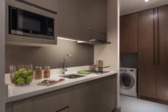 Studio Premier - Kitchen - Picture of Somerset Alabang Manila ...