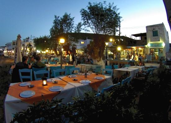 Stella restaurant loutra kythnos greece picture of for Stellas fish cafe menu