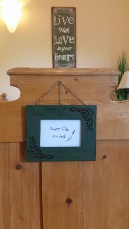 Ampervilla Hotel: Sauna mit Garten und Heubett