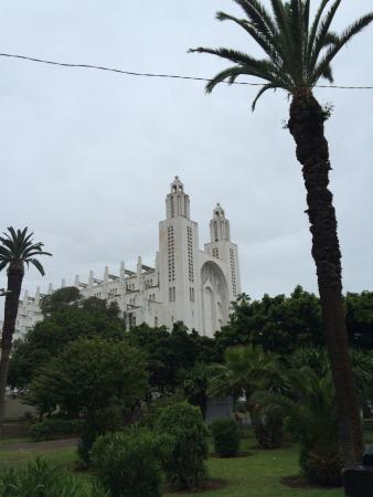 Casablanca, Marokko: Eglise du sacré coeur