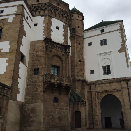 Casablanca, Marokko: vue arriere du palais royale