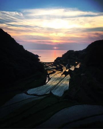 Genkai-cho, Japón: We could somehow make it before sun set.