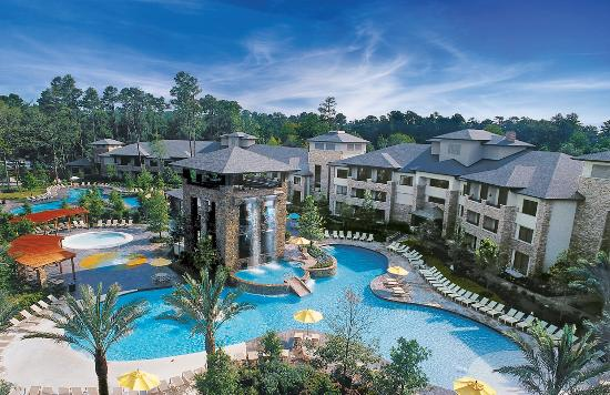 The Woodlands Resort & Conference Center: The Forest Oasis Waterscape