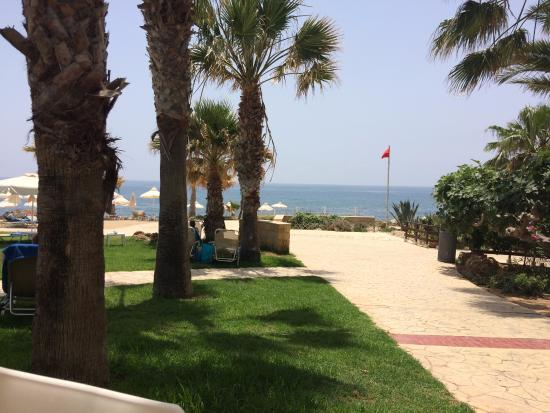 Akti Beach Tourist Village: View from the restaurant at lunch