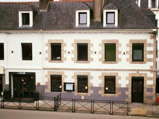 L'Aiglon Restaurant: Facade L'Aiglon Pontivy