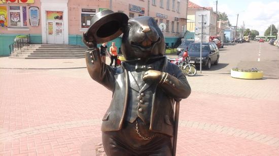 Картинки по запросу фото памятник бобру в бобруйске
