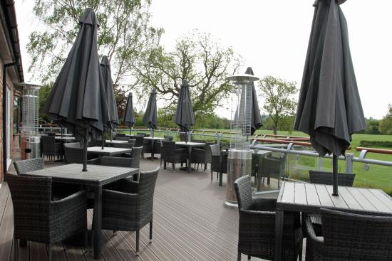 Llansantffraid-ym-Mechain, UK: New Terrace Area  2016