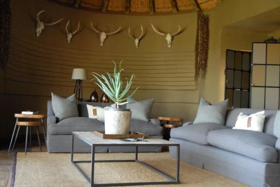 Madikwe Game Reserve, แอฟริกาใต้: Another sitting room