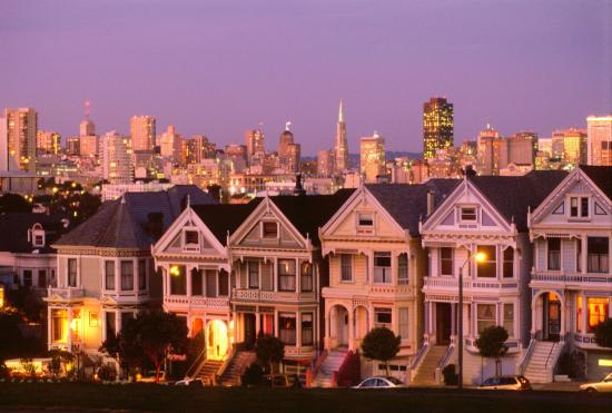 Embassy Suites by Hilton Hotel San Francisco Airport (SFO) - Waterfront: The Painted Ladies
