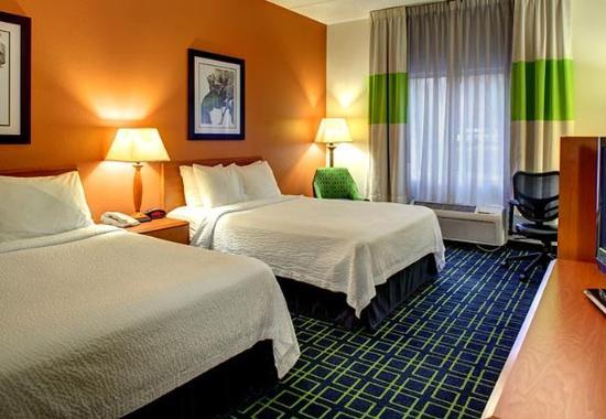 Fletcher, Kuzey Carolina: Double/Double Guest Room